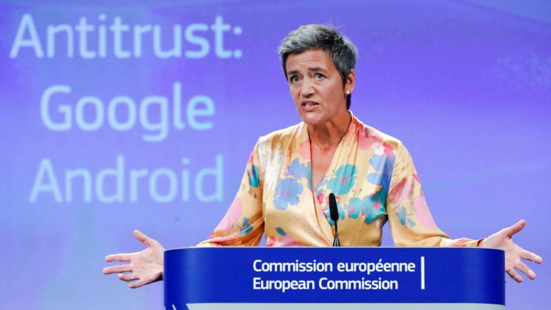 Trump Slams Record EU Fine Against Google