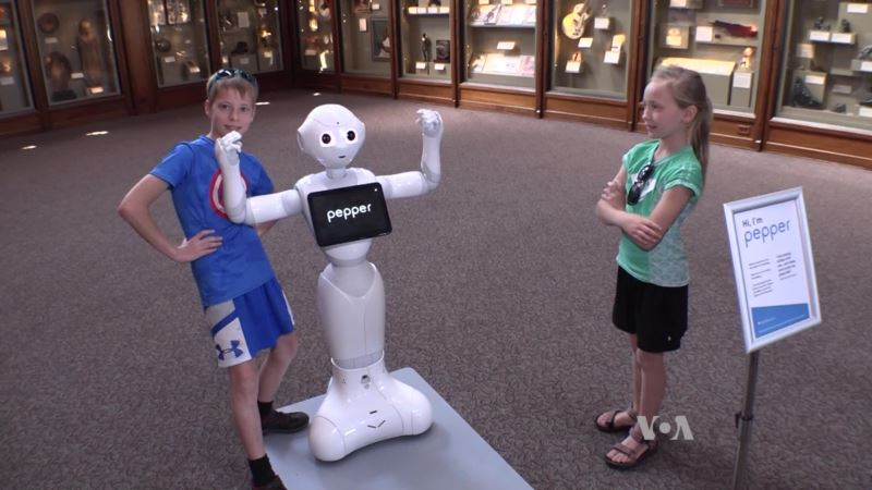 Cute Robots Invade the Smithsonian