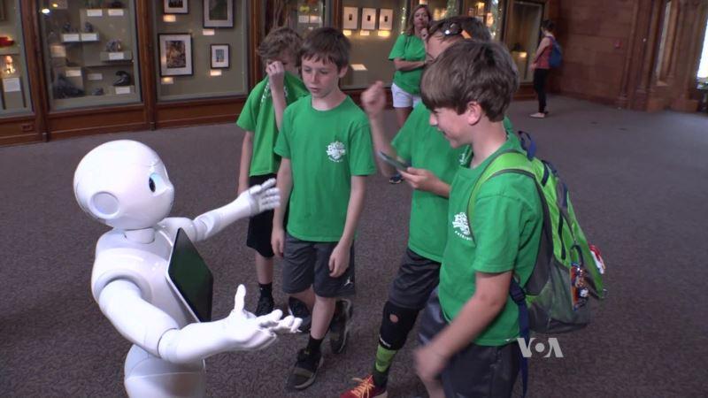 Cute Robots Invade Smithsonian Museum
