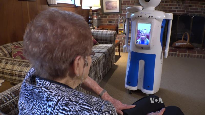 New Startup Brings Robotics into Seniors' Homes