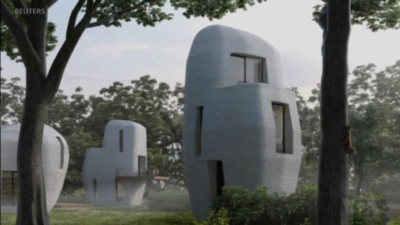 World's First Commercial 3-D-Printed Concrete Homes Planned