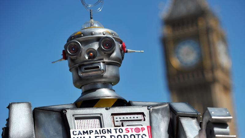 Call Growing for Treaty to Ban Killer Robots