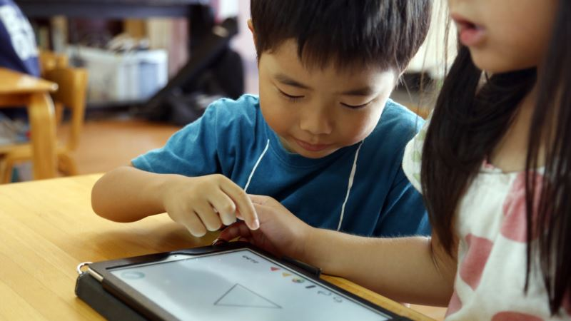 Japan Preschools Use Tablets to Prep Tots for Digital Age