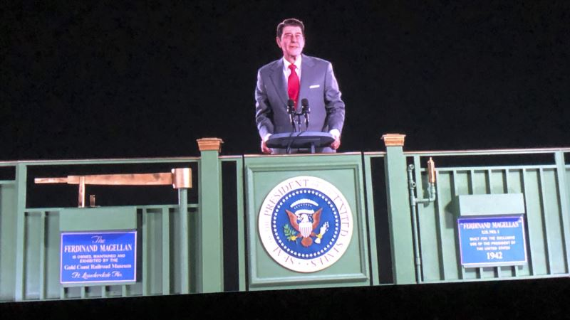 Reagan Back on Campaign Trail — as Hologram