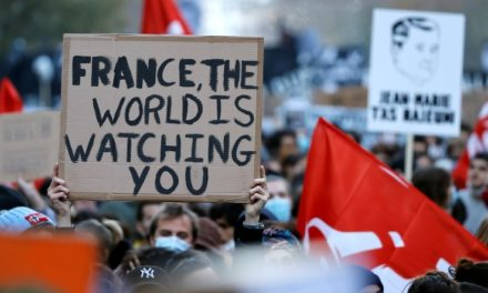 French Protesters, Police Clash Over New Security Legislation