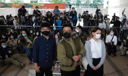 3 Hong Kong Prominent Pro-Democracy Activists in Custody