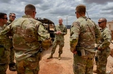 Ships Positioned on Somalia's Coast for US Troops' Drawdown