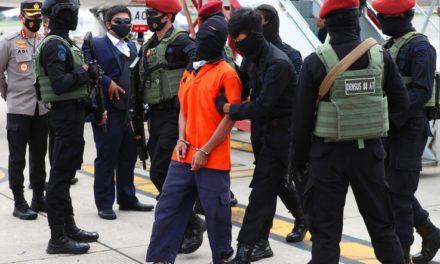 Indonesian Police Move Top Terror Suspect for Investigation