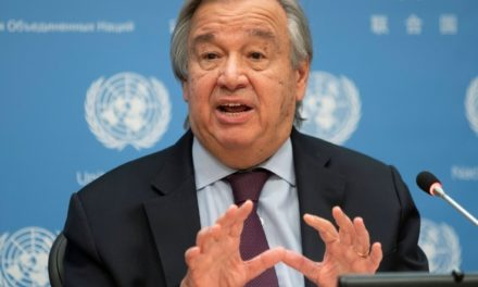UN Chief Issues Message of Hope, Healing for New Year