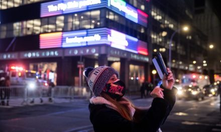 NY's Times Square Revelry on New Year's Eve Replaced by … Nothing