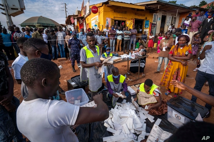 Ugandan Military Enters Opposition Leader's House After Election Fraud Accusations